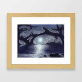 Distant Light Framed Art Print