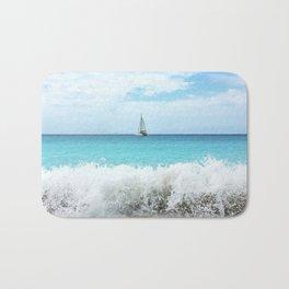 Sailing the Caribbean Bath Mat
