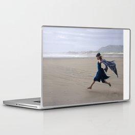 beach run Laptop & iPad Skin