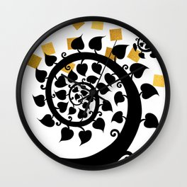 Bodhi Tree0607 Wall Clock