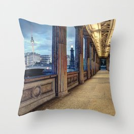 Window To The Other World Throw Pillow