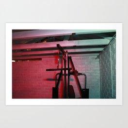 Psychology of Crime 03 Art Print