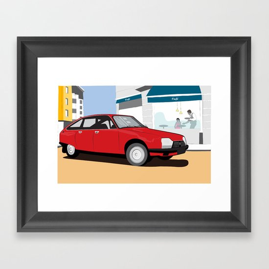 GS Framed Art Print