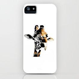 Silly Giraffe iPhone Case