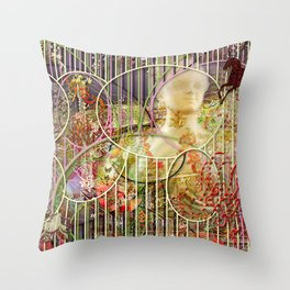 The Relative Frequency of the Causes of Breakage of Plate Glass Windows Throw Pillow