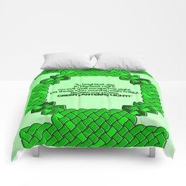 Green Lantern Symbol & Oath Comforters