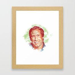 Chevy Chase Framed Art Print