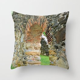 Mission Espada IV Throw Pillow