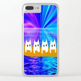 cat-160 Clear iPhone Case
