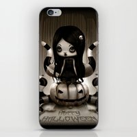 halloween iPhone & iPod Skins featuring Halloween by Liransz