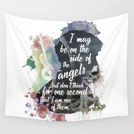 Sherlock Side of the Angels Wall Tapestry