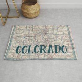 Colorado Map Rug