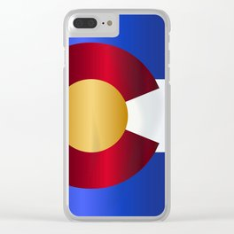 State Flag Of Colorado Clear iPhone Case