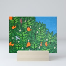 My Orange Tree Mini Art Print