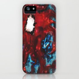 Shimmering Movement iPhone Case
