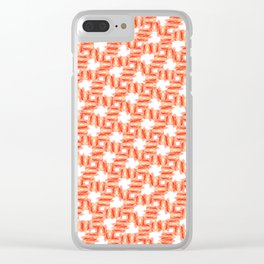 Pattern 116 Clear iPhone Case