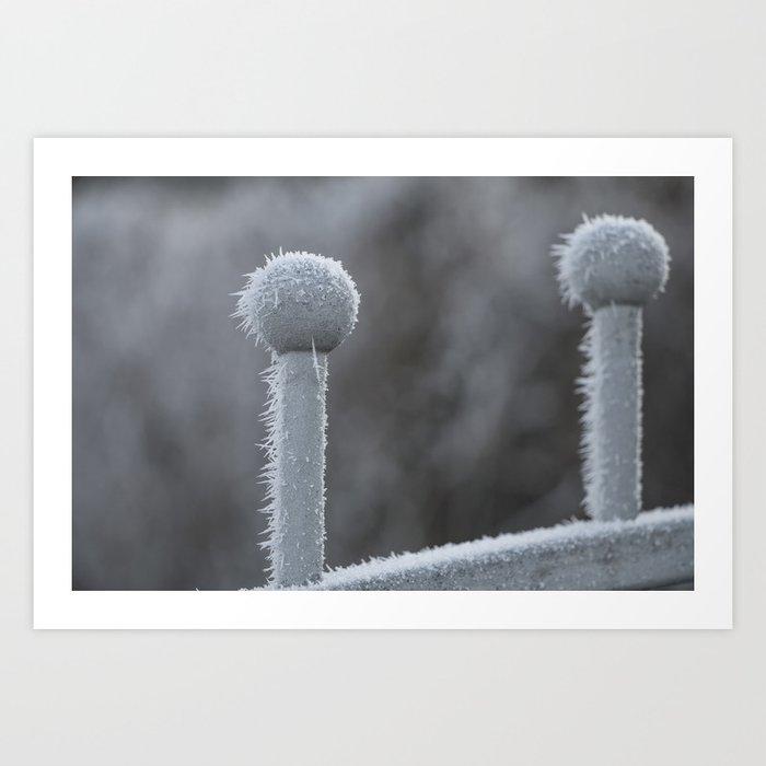 Icy Days NO9 Art Print