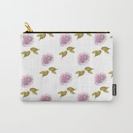 Roses art watercolor Carry-All Pouch