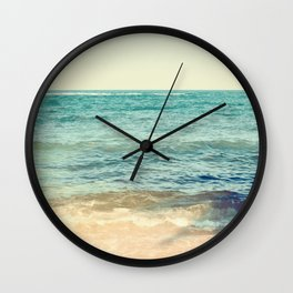 Wavy shadows Wall Clock