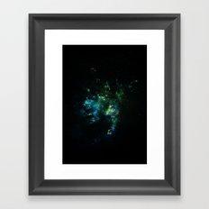 Abstract Space Art Framed Art Print