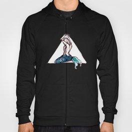 mermaid triangle Hoody