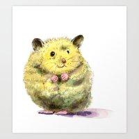 Hamster II Art Print
