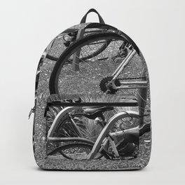 Bikes In The Bike Stand Backpack