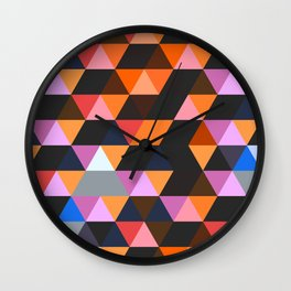 Funky Geometric Wall Clock