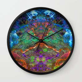 The Genie's Invocation II Wall Clock