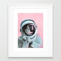 matty healy Framed Art Prints featuring ASTRO BOY // MATTY HEALY by Jethro Lacson