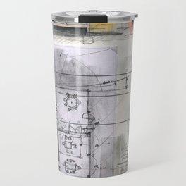 House project drawing Travel Mug
