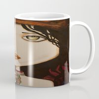 model Mugs featuring model by Gabriele Perici