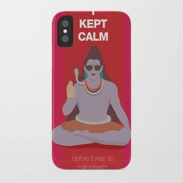 Someone kept calm before it was cool iPhone Case