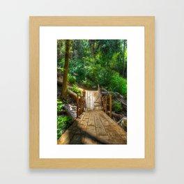 Felled By Nature Framed Art Print