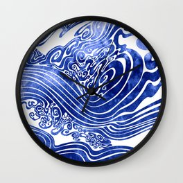 Churn The Deep Wall Clock