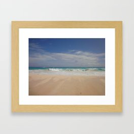 Beautiful Beach Bermuda 5 Framed Art Print