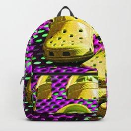 Pop Art Crocs By Sharon Cummings Backpack