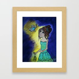 dreaming... Framed Art Print