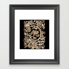 Mother Of Pearl Owl And Birds Framed Art Print
