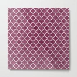 Harem Window (Mulberry Wine) Metal Print