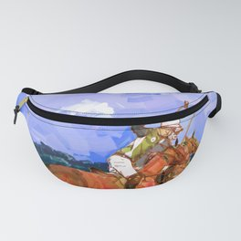 poloplayer in bavaria Fanny Pack