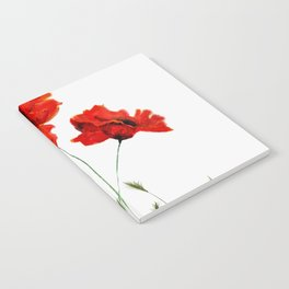 Red Flowers Notebook
