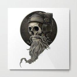 Skull Winya No 99 Metal Print