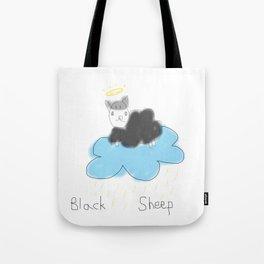 black sheep in heaven Tote Bag