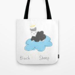 black sheep in heaven Tote Bag