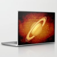 planet Laptop & iPad Skins featuring Planet by Fine2art