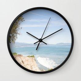 Morning in Santa Barbara Wall Clock