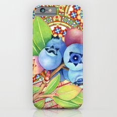 Nouveau Rococo Blueberries Slim Case iPhone 6s