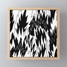 Burnout Friday Framed Mini Art Print