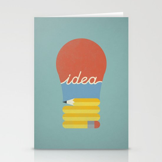 I've Got An Idea Stationery Cards